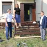 Николай Котов провел мониторинг ремонтных работ на социально значимых объектах избирательного округа