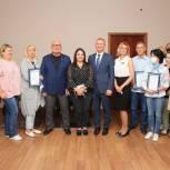 Вячеслав Фомичёв встретился с коллективом ТРЦ «Перловский»