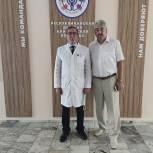 Леонид Черкесов посетил Республиканскую детскую клиническую больницу