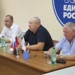 Луховицкие партийцы взяли на контроль вопрос ремонта кровли многоквартирного дома и колодца