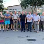 Депутат Денис Желиховский встретился с жителями улицы Академика Сахарова в Пензе