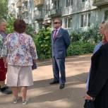 Владимир Вшивцев побывал в деревне Горетово Можайского городского округа и встретился с жителями