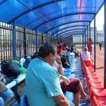 Панков: В саратовском поселке Юбилейный теперь есть условия для тренировок в любое время года