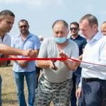 При содействии Константина Бахарева в селе Нижнекурганное Симферопольского района появился водопровод