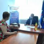 Прием граждан провел депутат Госсовета республики Андрей Александров
