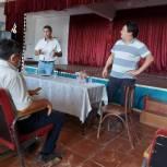 Кандидаты от партии «Единая Россия» в ГосДуму ФС РФ встретились с жителями Юстинского района