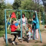 Детским площадкам в Октябрьском городке требуется ремонт