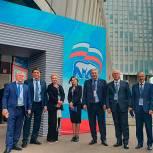 Сайгидахмед Ахмедов принял участие в работе ХХ съезда партии «Единая Россия»
