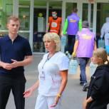 Волонтеры #МЫВМЕСТЕ передали более 700 кг помощи больнице № 52