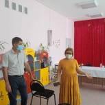 Михаил Богатов посетил  детский сад №19 города Элисты