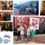 В Красноярске семьи с приемными детьми побывали на выставке в вагонах музея-панорамы «Поезд Победы»