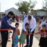 В рамках программы «Формирование комфортной городской среды» в Кизлярском районе открыли очередной сквер