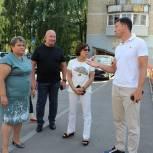 Ирина Роднина провела встречу с жителями одного из домов городского округа Лобня