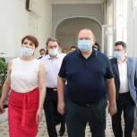 Руководители региона посетили объекты социальной инфраструктуры города Сердобска