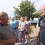 В Ершове начались работы по ремонту тротуаров