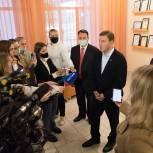Андрей Турчак предложил построить ФОКОТ в рамках капремонта лицея-интерната в Великом Новгороде