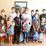 Рабочий визит в Башмаковский район Валерий Лидин начал с посещения многодетных семей