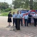 """В рамках программы """"Формирование комфортной городской среды"""" в Кизляре открыли парк и сквер"""