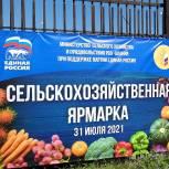 По инициативе «Единой России» во Владикавказе прошла сельскохозяйственная ярмарка.