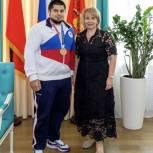 Партийцы Электростали встретились с призёром Олимпийских игр в Токио