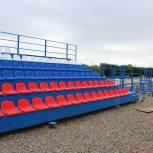 На Увельском стадионе «Олимпийский» обновляют трибуны