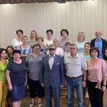 Владимир Вшивцев встретился с коллективом Шаховской детской школы искусств