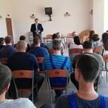Андрей Голубев посетил Каширский завод «Новотранс» и предприятие «Строительные инновации»