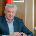 Губернатор Сергей Носов поздравил колымчан с Днем государственного флага Российской Федерации