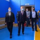 Мария Василькова: Группа общественного контроля проверила качество ремонта школьного спортзала в Малом Голоустном