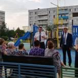 Андрей Голубев встретился с жителями в Озёрах