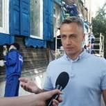 Стройотряды Томска продолжают работать на городских стройках