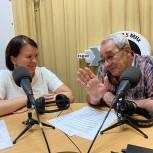 Ольга Чистякова рассказала о мерах поддержки семей с детьми в эфире радиостанции «Эхо Пензы»