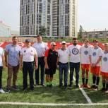 Юные спортсмены со всей республики в рамках Фестиваля дворового спорта сразились в футбол и баскетбол