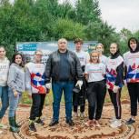В рамках партийного проекта «Чистая страна» в Пушкино прошла акция по очистке реки Скалбы
