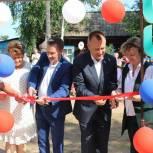 Николай Труфанов: Новая общественная площадка с фонтаном появилась у жителей села Кривая Лука Киренского района