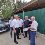 Висампаша Ханалиев проверил ход реализации программы «Чистая вода» в г.Хасавюрте