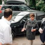 Андрей Булгаков и Александр Толмачёв посетили поселение Загорянское