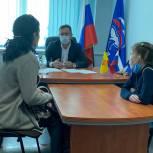Очередной прием граждан провел Николай Владимиров