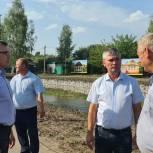 В Пителинском районе благоустраивают общественные территории