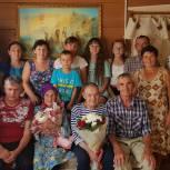 Леонид Пронин пожелал крепкого здоровья  юбилярше Антонине Майоровой из Козловского района