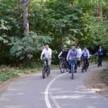 Радий Хабиров предложил соединить велодорожкой Нетфекамск и село Николо-Березовка