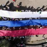 Молодогвардейцы Южного округа организовали забег «За наших» в поддержку российских олимпийцев в Токио