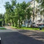 Ремонт дворов завершают в Правобережном округе Иркутска в рамках партпроекта «Городская среда»