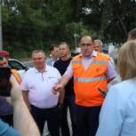 Участники проекта «Дорожный контроль» подвергли критике итоги ремонта проспекта Дзержинского