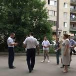 Николай Кузяков оказал содействие жителям дома №2 улицы Фабричной в решении вопроса водоотведения сточных вод
