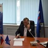 Николай Малов провел дистанционный прием граждан