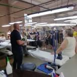 Денис Майданов посетил предприятия Можайска и пообщался с трудовыми коллективами
