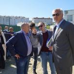 На Набережной, 55 в этом году  закончат благоустройство дворовой территории
