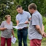 Жители Сухиновки Глушковского района просят построить детскую площадку