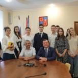 Владимир Шапкин встретился с членами молодежного парламента Балашихи
